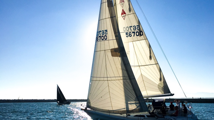On the third Friday of every month from May to September, there's a regata called the    Sundown Series   .