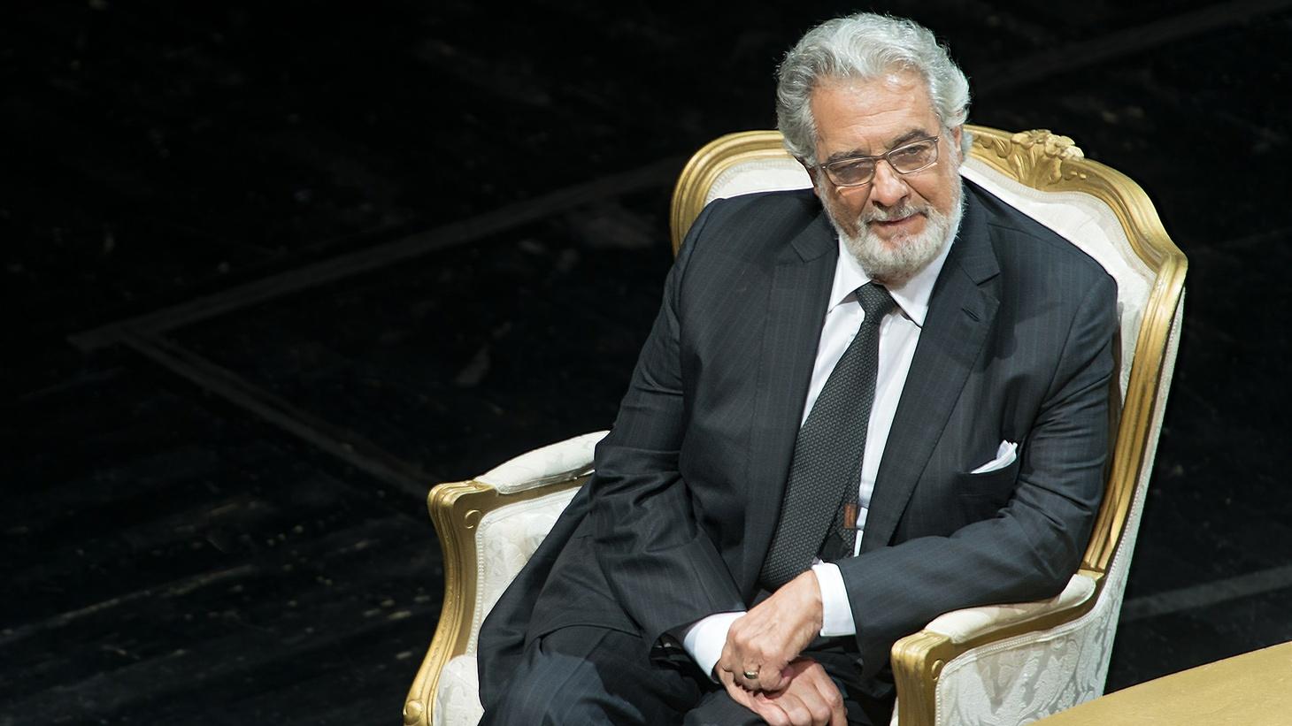 Plácido Domingo, 2014.