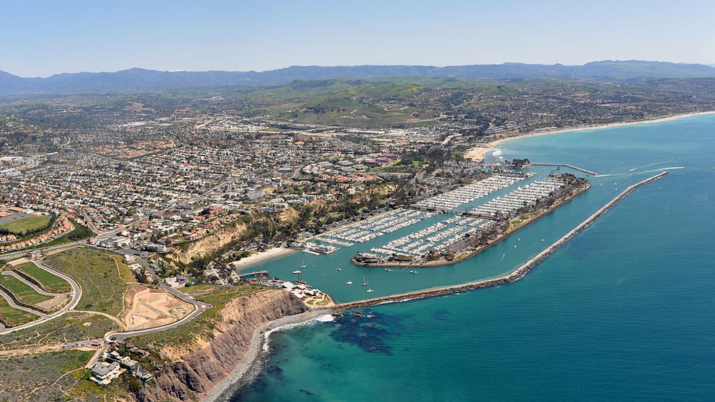 Dana Point is a city located in southern Orange County CA. Photo D Ramey Logan