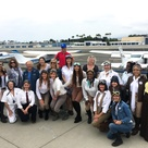 Pilots take flight to mark the first-ever all women's air race