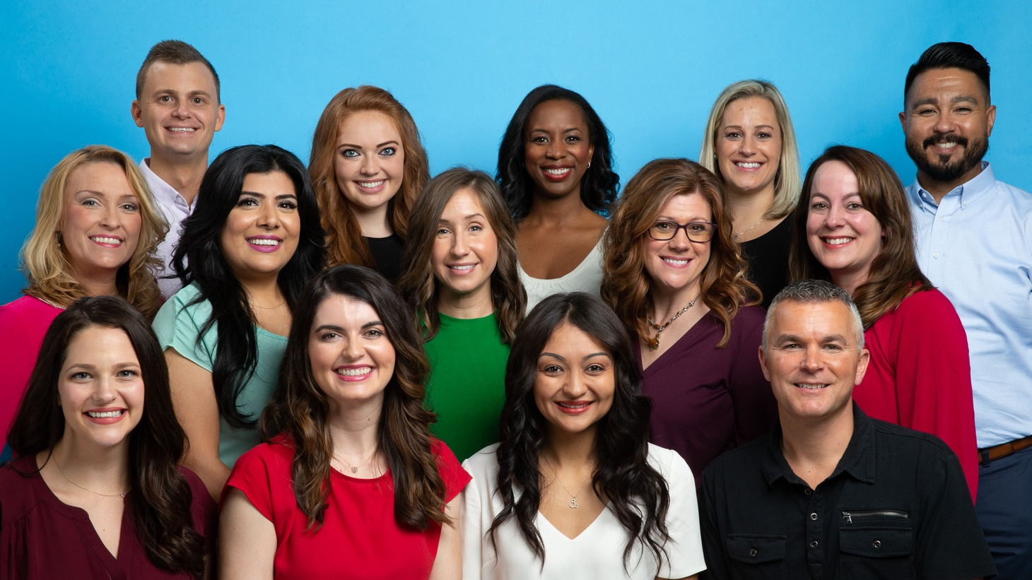 The 14 people selected to be the 2020 Disney Parks Moms Panel.