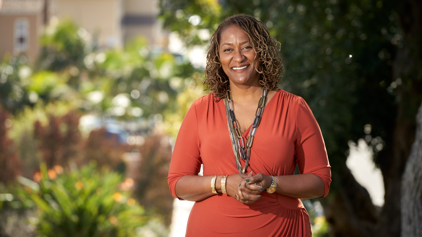 State Senator Holly Mitchell just got voted onto the LA County Board of Supervisors. She's representing District 2, which includes Compton, Culver City, Koreatown, and other neighborhoods.