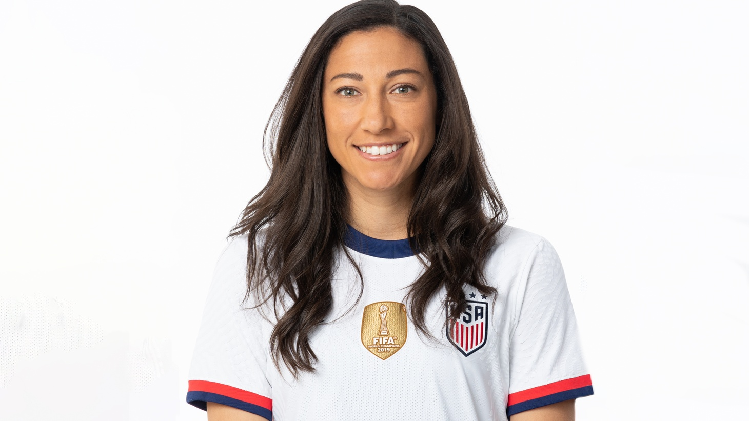 """Christen Press grew up in Palos Verdes Estates and says soccer was a family affair. She played with both her sisters, and her mom and dad coached her youth teams """"up until they realized I was actually pretty good."""""""