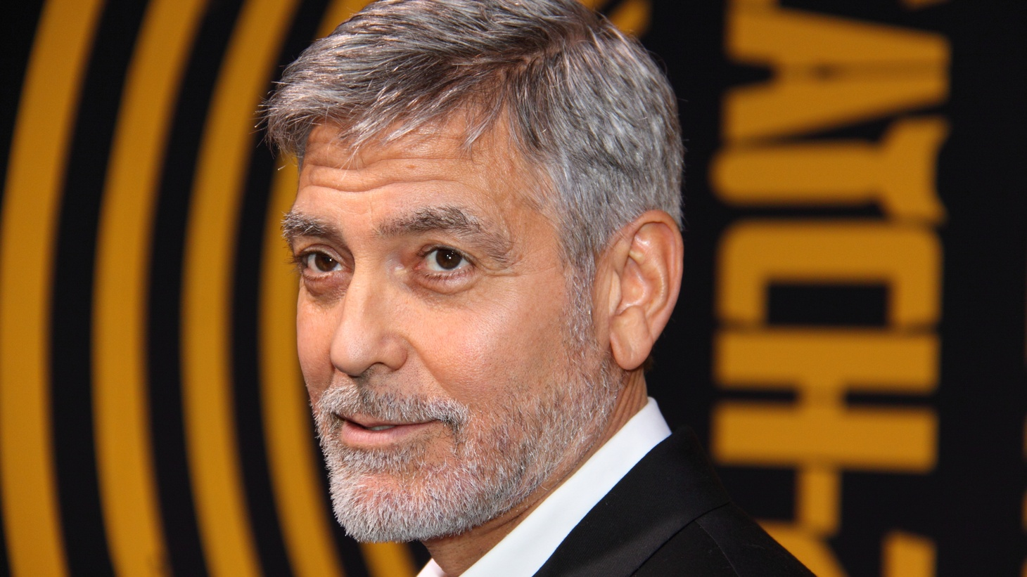 """George Clooney at the premiere of """"Catch-22"""" on May 7, 2019 at the TCL Chinese Theatre in Hollywood, CA. Clooney and other celebrities are working with the Los Angeles Unified School District to try to open a new school on TV and film production in fall 2022."""
