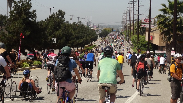The first CicLAvia happened 10 years ago.