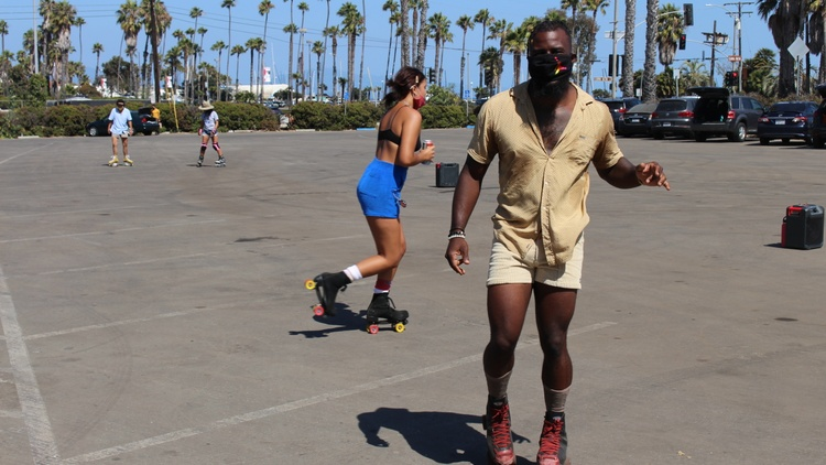 Roller skating has become increasingly popular since the coronavirus pandemic. But African American skaters have been gracefully gliding around LA and cities nationwide for decades.