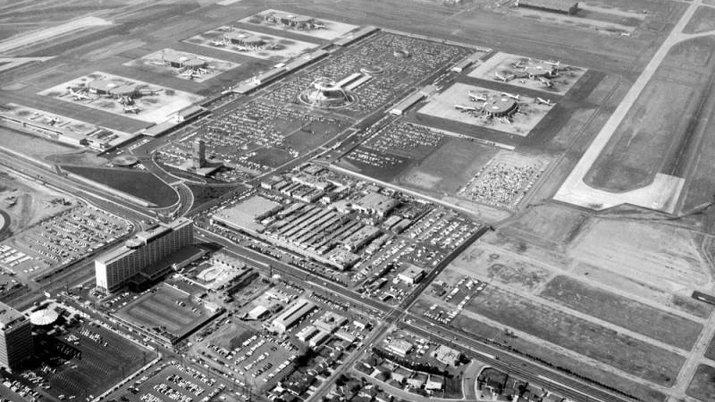 View of LAX, 1964.