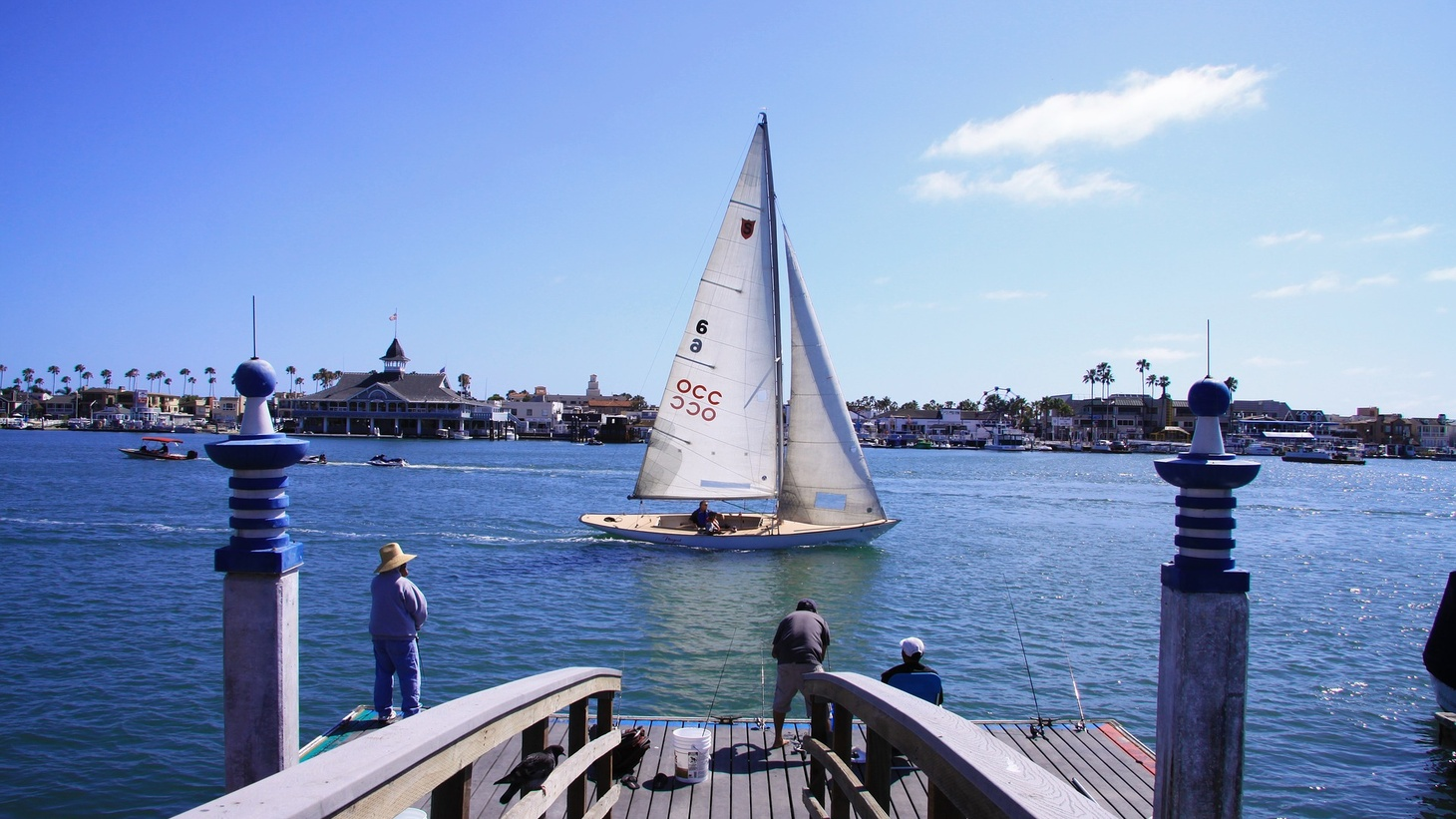 Balboa Island in Orange County.