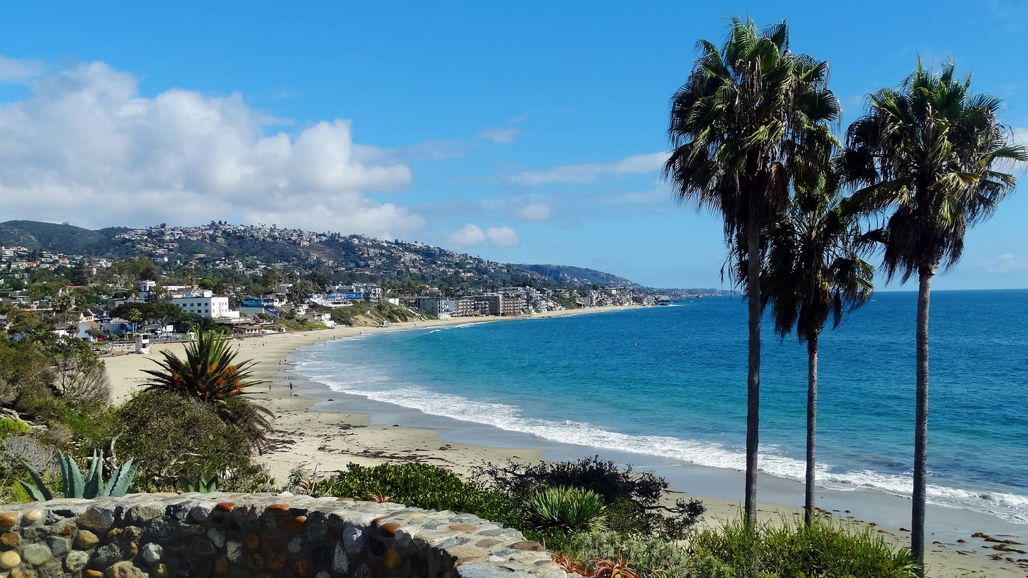 Laguna Beach in Orange County.