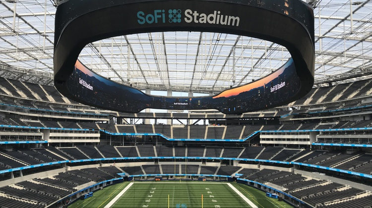 The LA Rams host the Dallas Cowboys this Sunday at their brand new home: SoFi Stadium. The complex held a virtual ribbon cutting ceremony today.