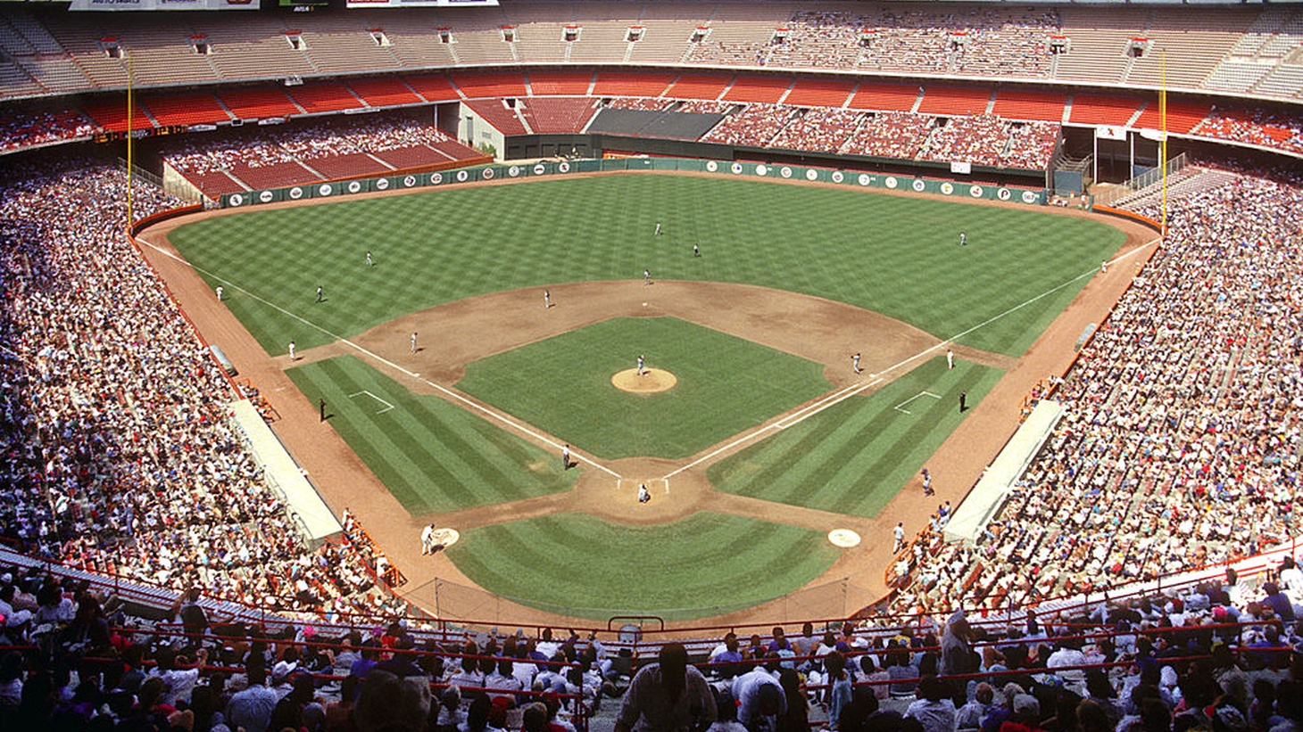 Angel Stadium, Anaheim, CA.