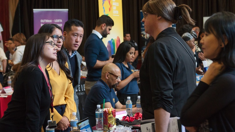 Organizers hope to make the South LA transgender career fair an annual event.