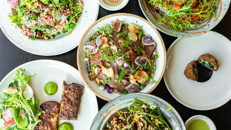KCRW's Evan Kleiman shares her list of five great neighborhood restaurants to check out this year.