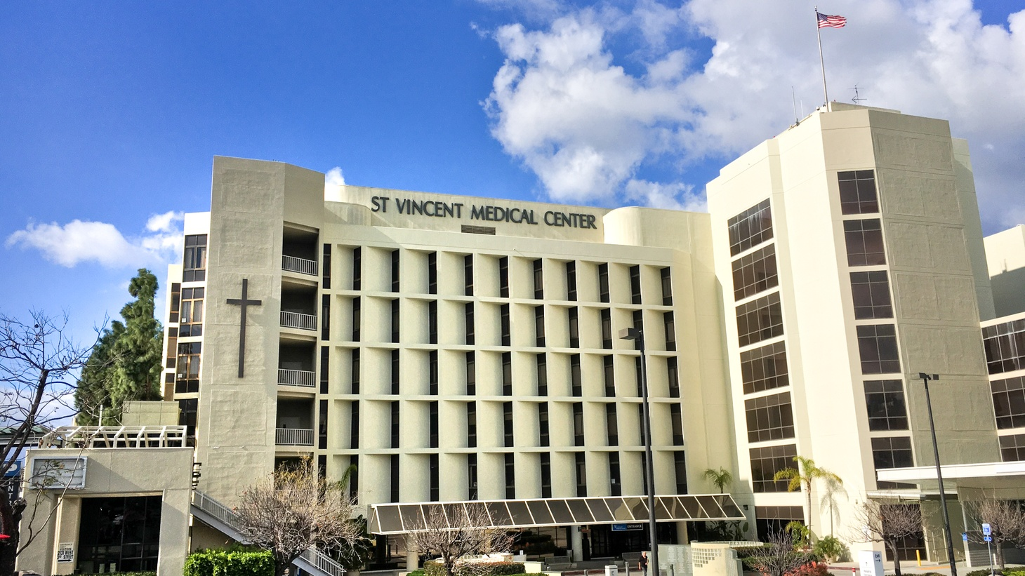 St. Vincent Medical Center on January 21, 2020.