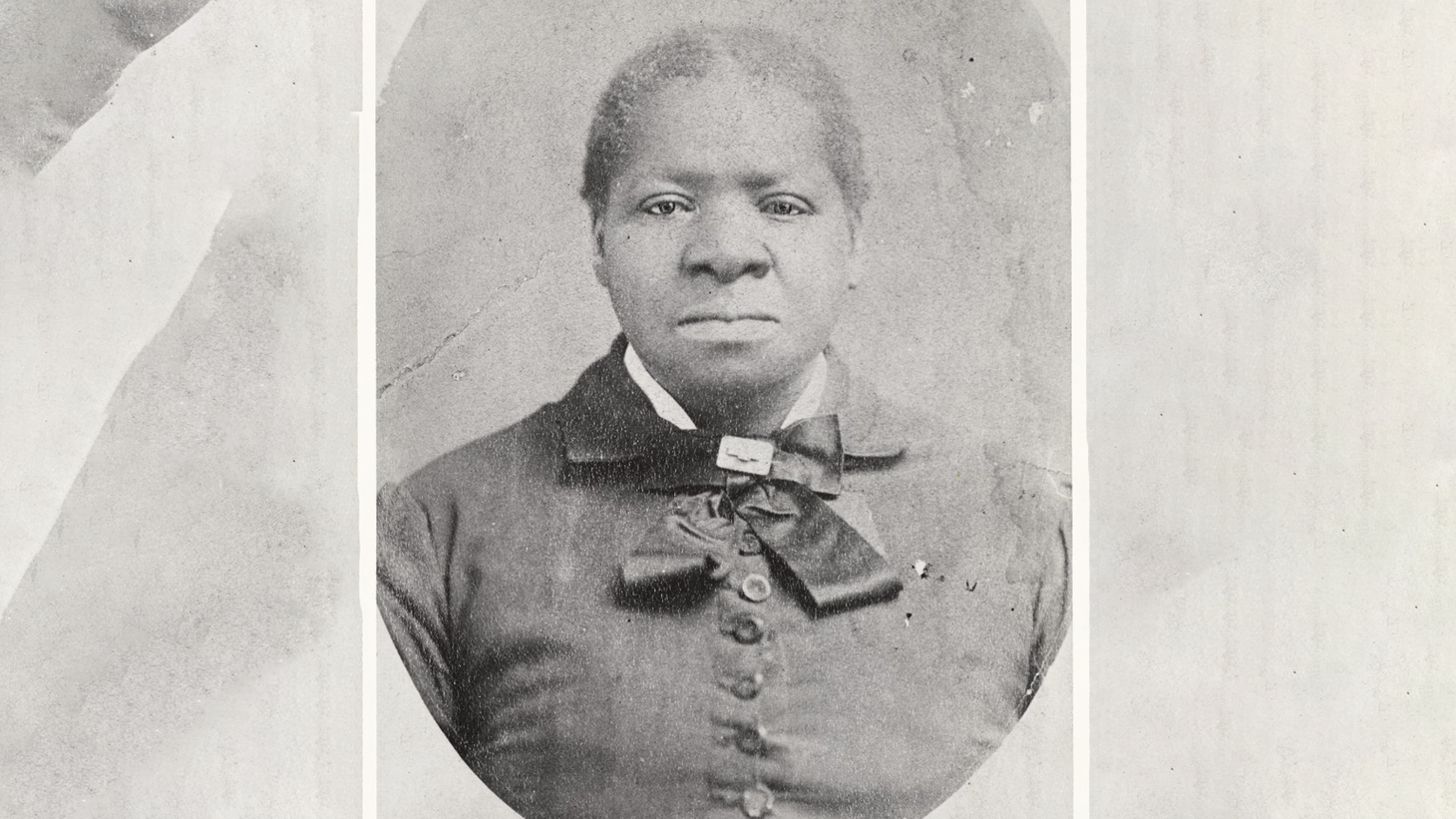 """This is the only known photographic portrait of Biddy Mason (1818-1891). """"This is a person who was born a slave, was able to create something wonderful and lasting in one of the greatest cities in the world. Her story needs to take up public space and public consciousness,"""" says Brenda Stevenson, a UCLA professor of history and African American Studies."""