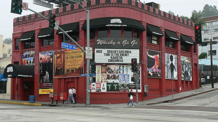 This fall, the city of West Hollywood gave landmark status to the Whisky a Go Go, the Roxy, and the Rainbow Bar and Grill.