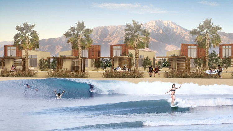 New developments coming to the Coachella Valley are hoping to turn the desert into the region's newest surf spot.
