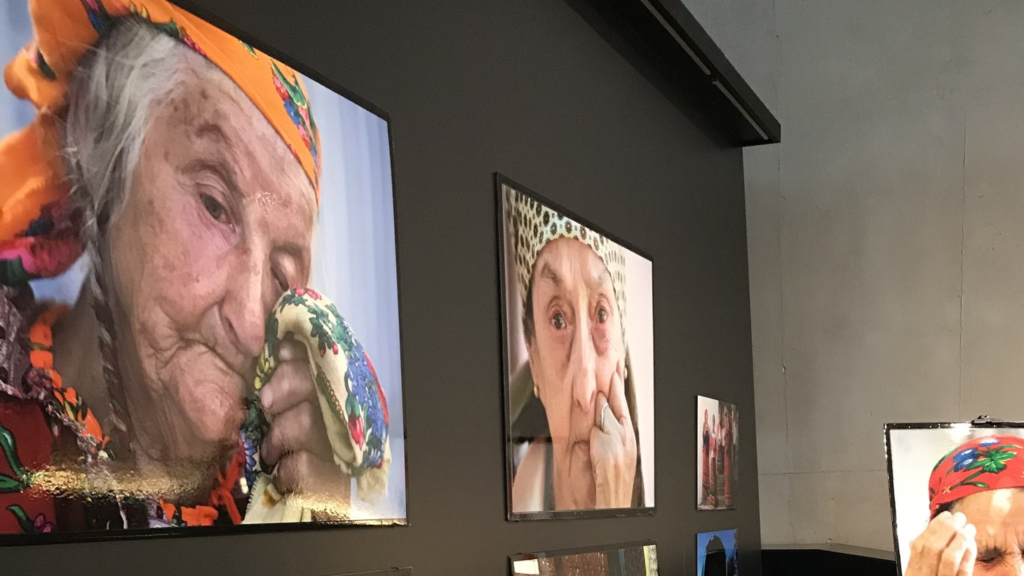 An exhibit at the The Los Angeles Museum of the Holocaust.