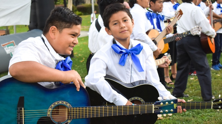 One nonprofit in Santa Monica is teaching under-resourced kids how to play mariachi music, plus Spanish language and Mexican culture. One student has gone on to play with the LA Phil.