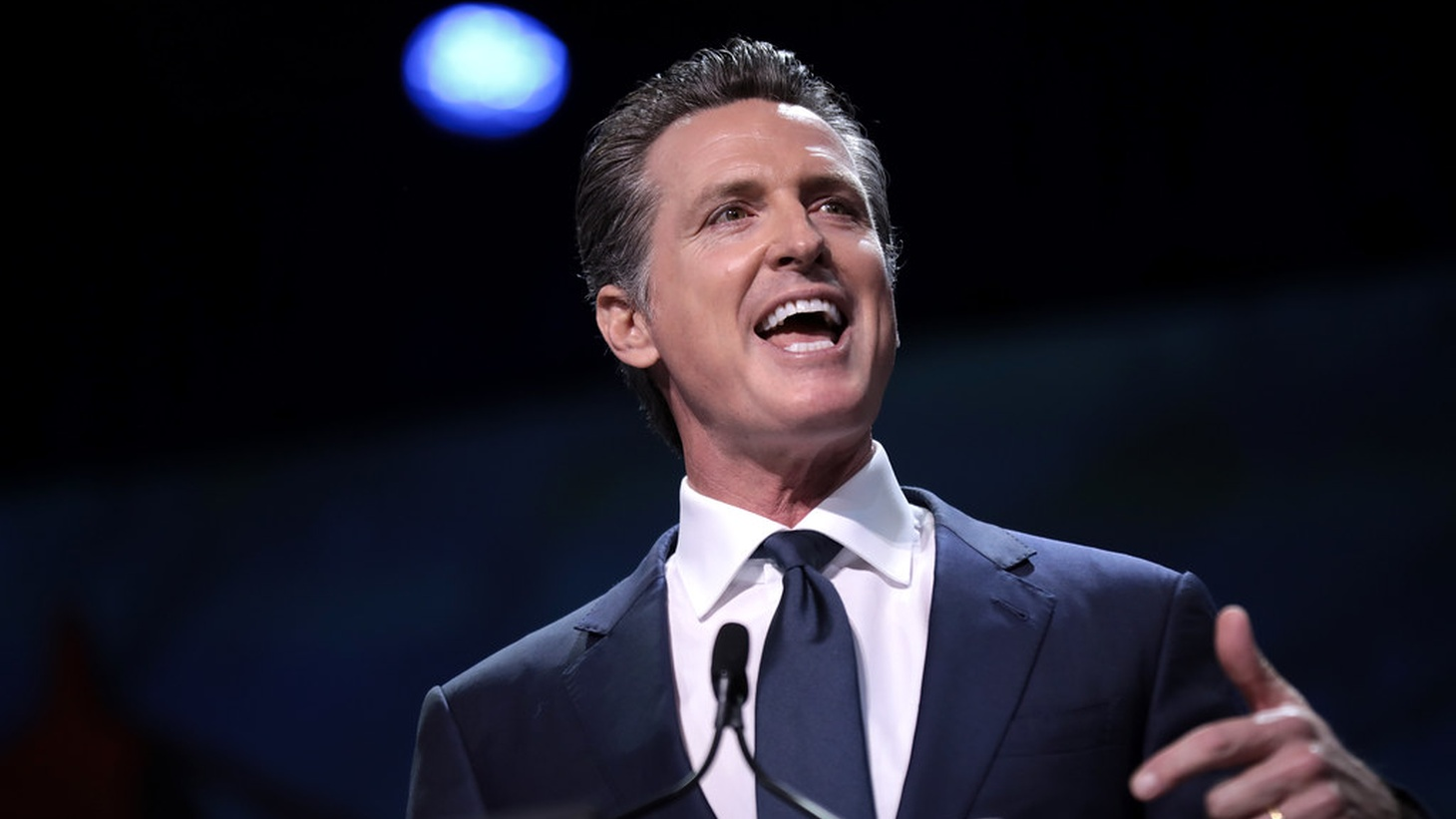 Newsom says social distancing efforts have been working.