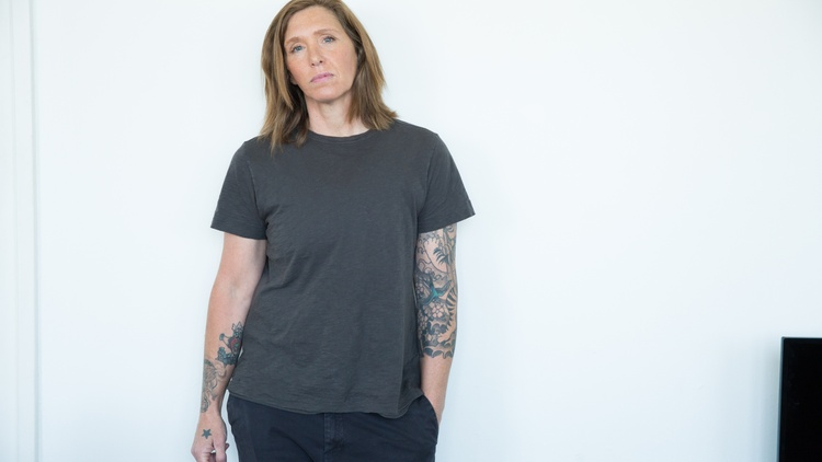 "Figuring out a Zoom AA meeting wasn't easy, but it was worth it, according to Patty Schemel, former drummer of the band Hole and author of the memoir ""Hit So Hard."""
