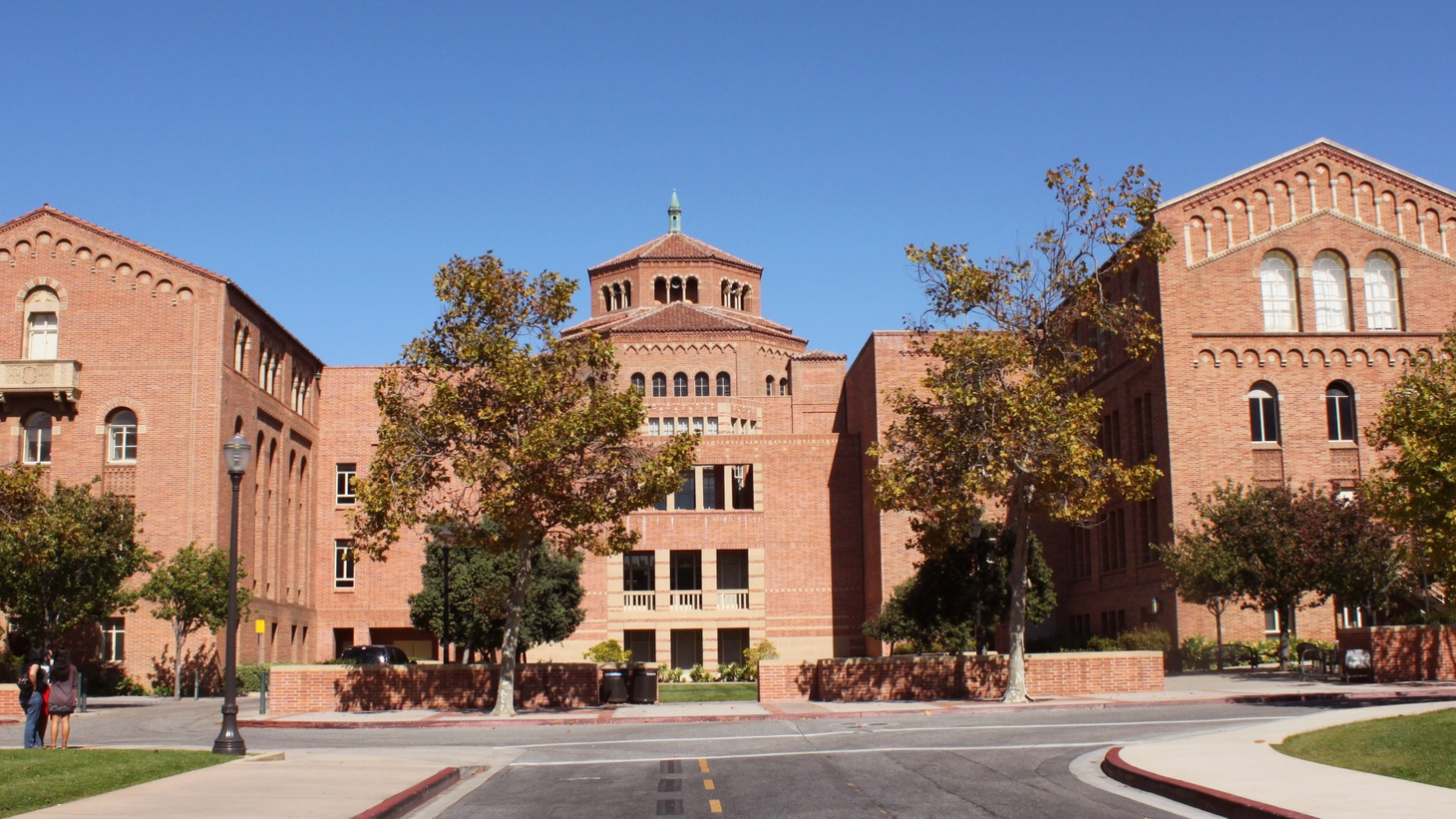Powell Library at UCLA.