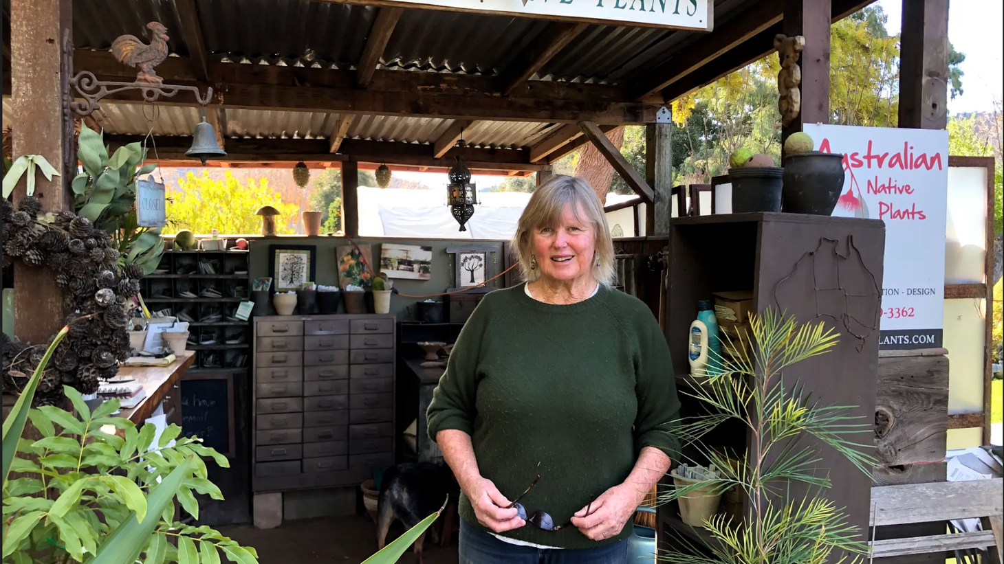Jo O'Connell moved to California 27 years ago when she saw a gap in the Australian plant business.