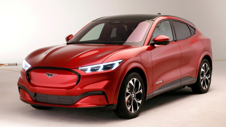 Ford Motor Company is shaking up the EV market. They just unveiled a new crossover, 4-door SUV called the Mustang Mach-E.