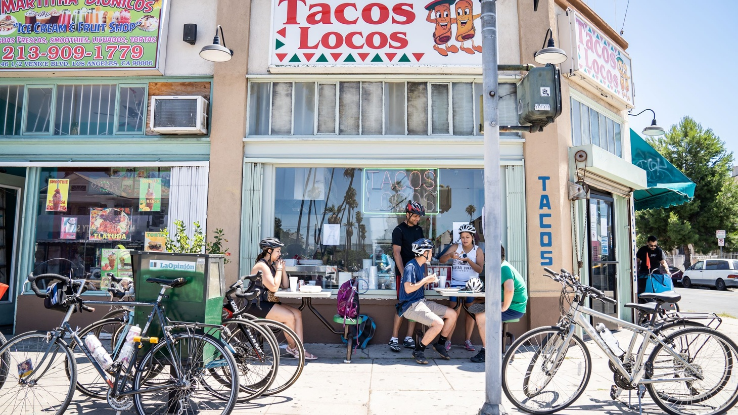 The City of LA and CicLAvia are helping restaurants expand their sidewalk seating and spill into nearby parking lots and car lanes. The process takes bureaucratic know-how and accessibility awareness.