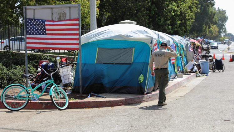 What will it take to finally end veteran homelessness? U.S. Secretary of Veterans Affairs Denis McDonough says progress in Los Angeles could have a domino effect across the country.