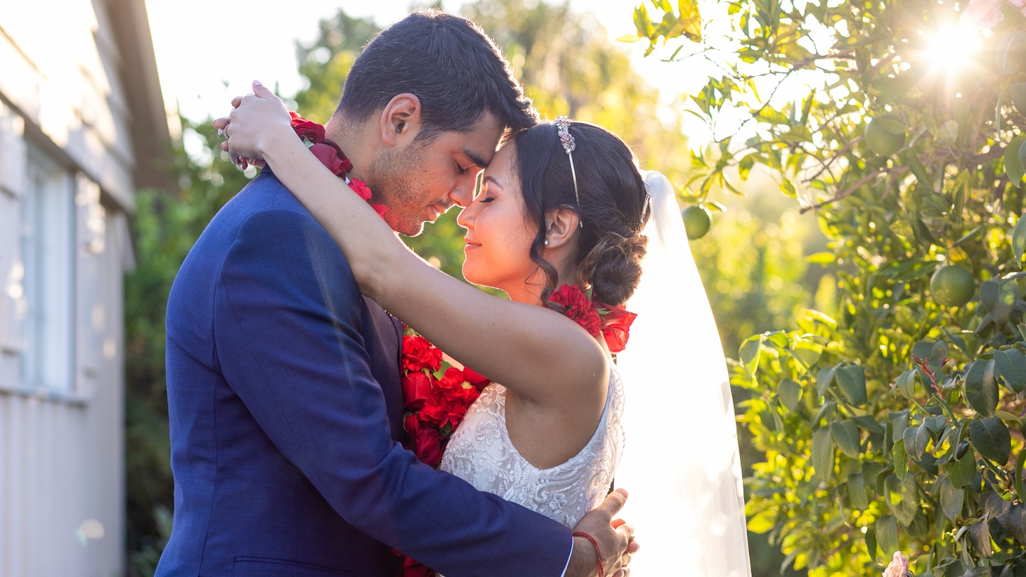 Miriam Hershman and Sagar Yadav canceled plans for a big autumn wedding and got married in front of five guests last month.