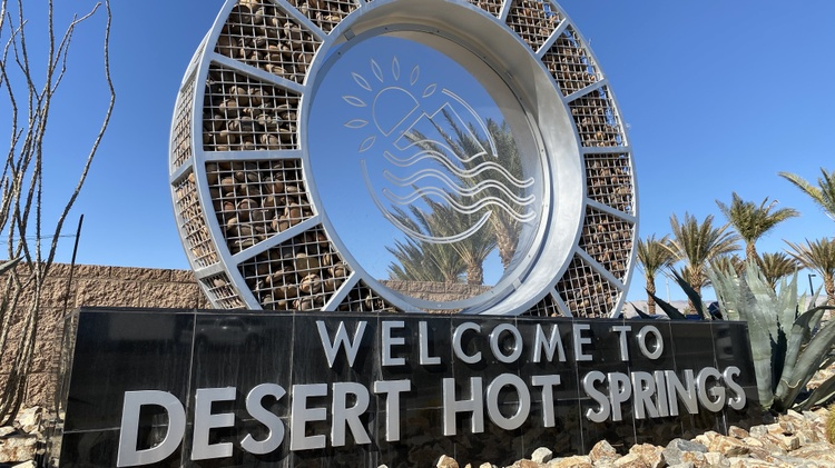 "Long known as ""the spa city,"" Desert Hot Springs is looking to expand its relaxation and recreational offerings by going big on so-called ""cannatourism."""