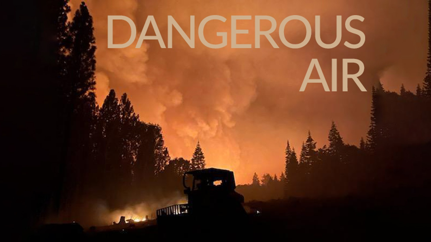 """""""Dangerous Air"""" looks at more than 10 years of federal satellite images of the earth, and counts the number of days with smoky air in every zip code in America. Photo by Beth LaBerge/KQED."""