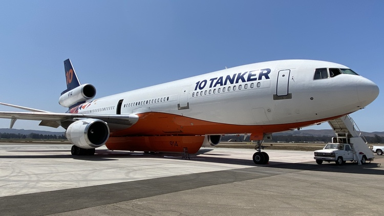 Jet fuel shortage could ground the planes meant to fight wildfires