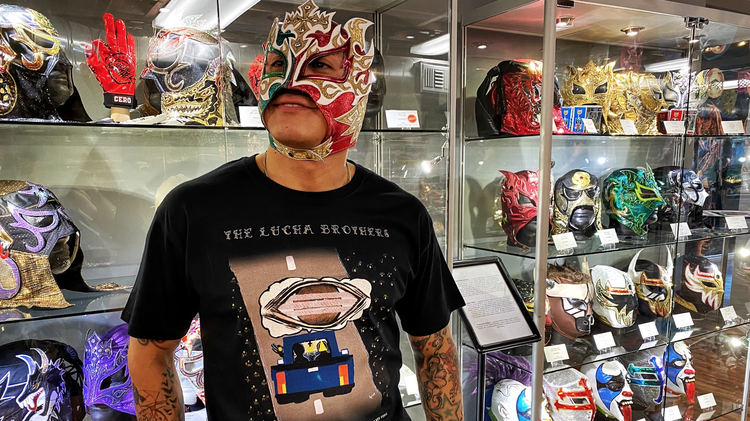 Republic of Lucha , a lucha libre-themed store and cultural event space in South Pasadena, flourished during the pandemic.