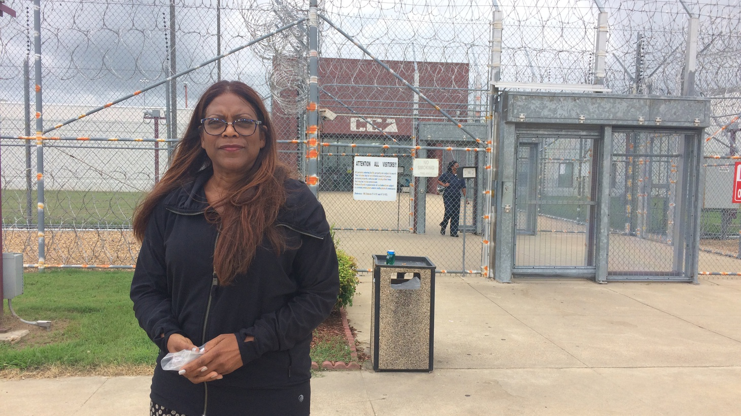 Daletha Hayden hasn't seen her son in almost a year. Her son, William Mitchell was sentenced to prison in California but is incarcerated in Mississippi. He's one of more than four thousand California prisoners in privately run out-of-state prisons. Hayden recently made the long trip out to visit him.