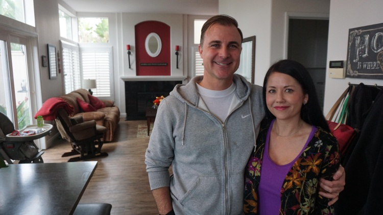 Patrick and Dava McCoy live in Mission Viejo, in a five-bedroom suburban tract home that used to feel much more spacious.