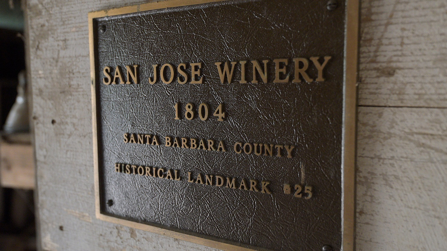 You may think of Santa Barbara's winemaking industry as relatively new, but in fact, its roots go far back.