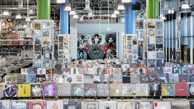 Amoeba Music reopens in Hollywood. How will they survive in a streaming world?