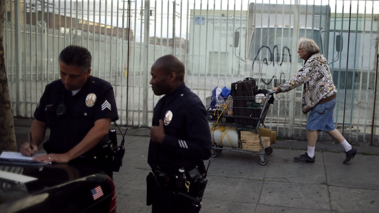 A new police bureau and resumed homeless sweeps work against LA County's anti-racist measure, says Lola Smallwood-Cuevas