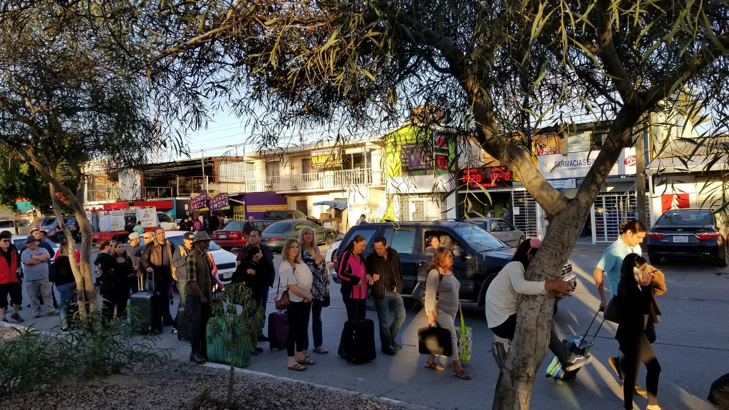 As United States Border Patrol decided to close one of the busiest border crossings in the world Sunday, firing tear gas and bullets at a group of migrants trying to claim asylum there, many people who wanted to enter the United States from Tijuana…