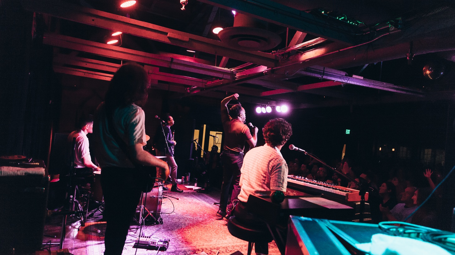 Durand Jones and The Indications at SOhO Restaurant and Music Club in Santa Barbara.