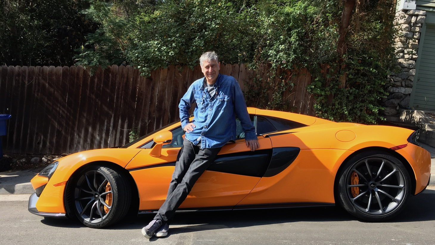 Tod Mesirow and the McLaren