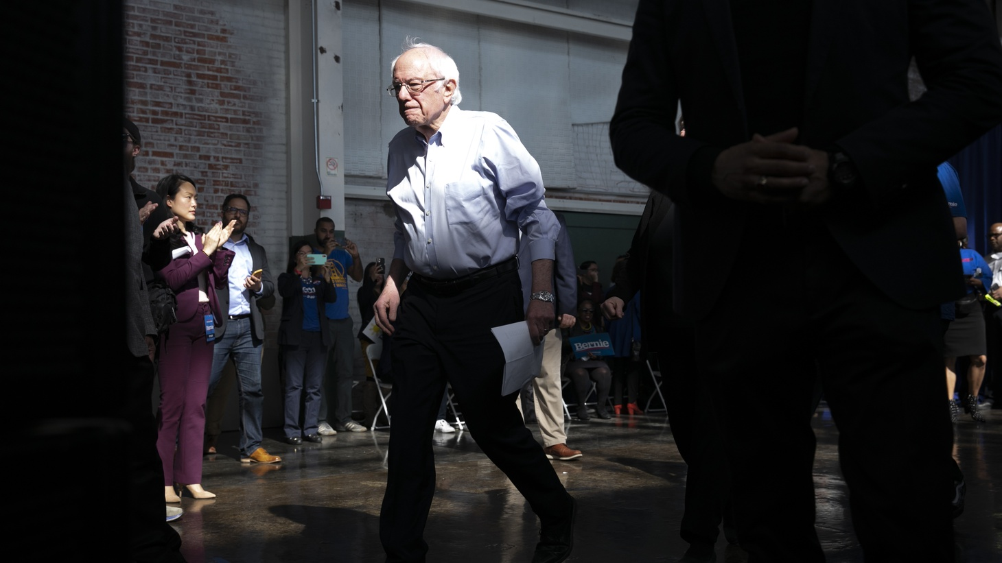 Sen. Bernie Sanders's won the California primary, but California