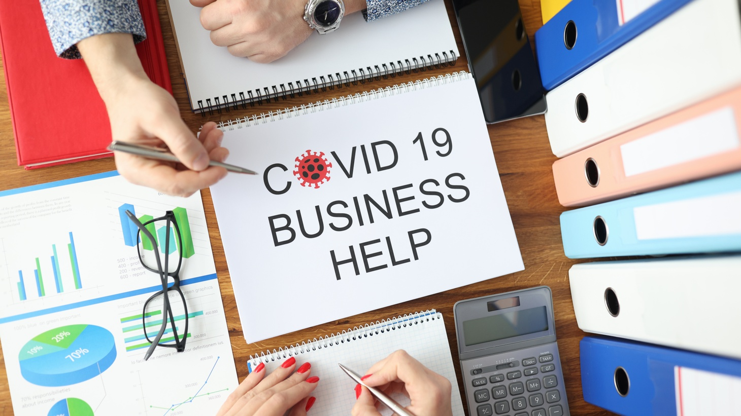 KCRW offers several ways you can help keep your California business humming after more than a year of the COVID-19 pandemic.