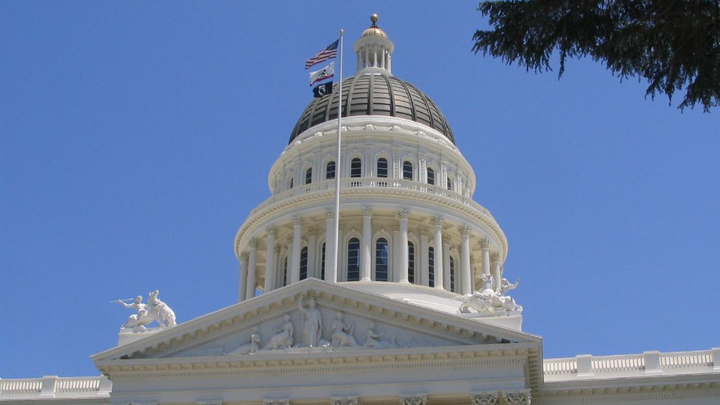 The California State Capitol in Sacramento. This week, Governor Gavin Newsom signed a bill that establishes a task force to research the history of slavery in the state and to develop a proposal for possible reparations for the descendents of enslaved people and those affected by slavery.