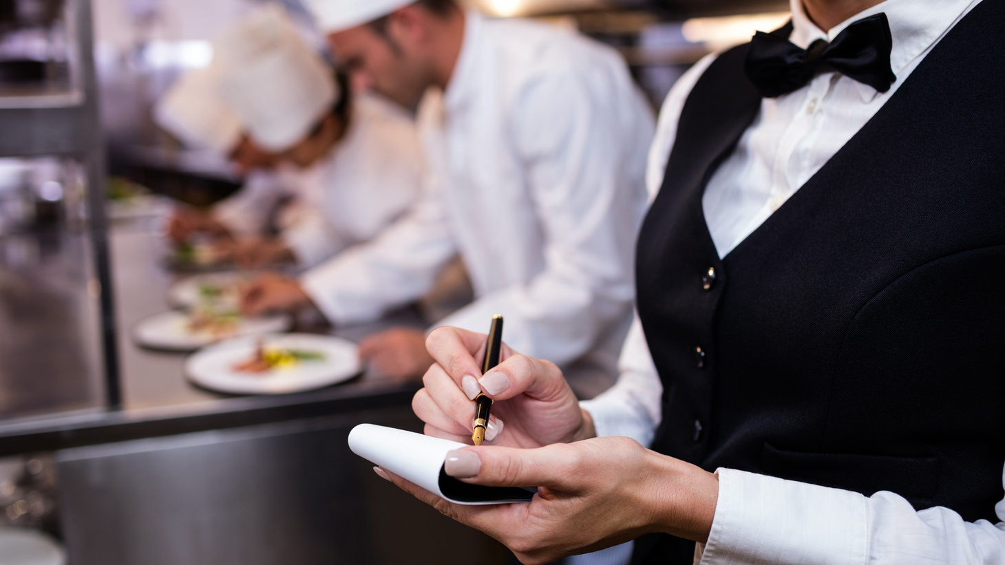 """""""You're asking 20-something-year-old greeters, or hosts or hostesses, in a restaurant to serve on the frontlines of what, sadly, has become a white-hot political issue,"""" says California Restaurant Association Jot Condie."""