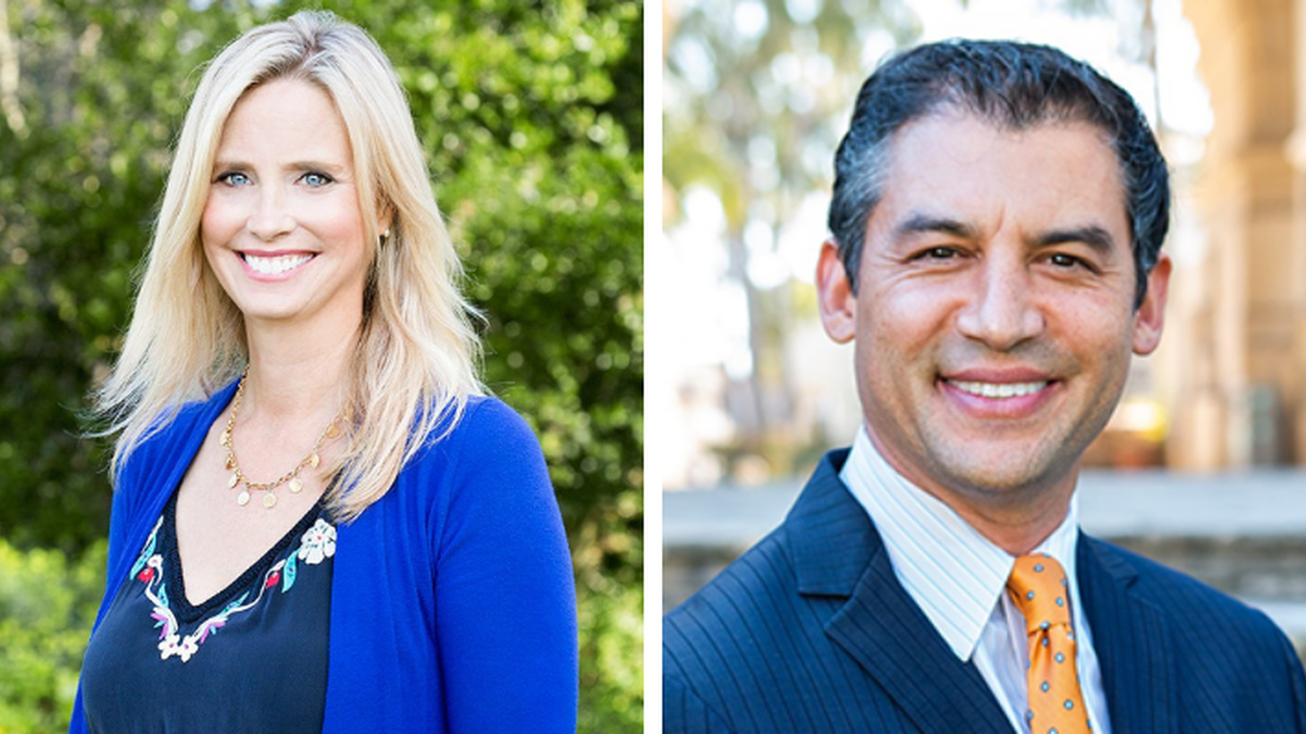 Laura Capps and Das Williams are running against each other for Santa Barbara County First District Supervisor.