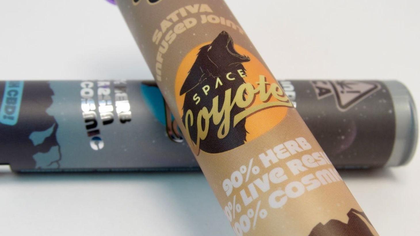 Space Coyote pre-rolled joints.