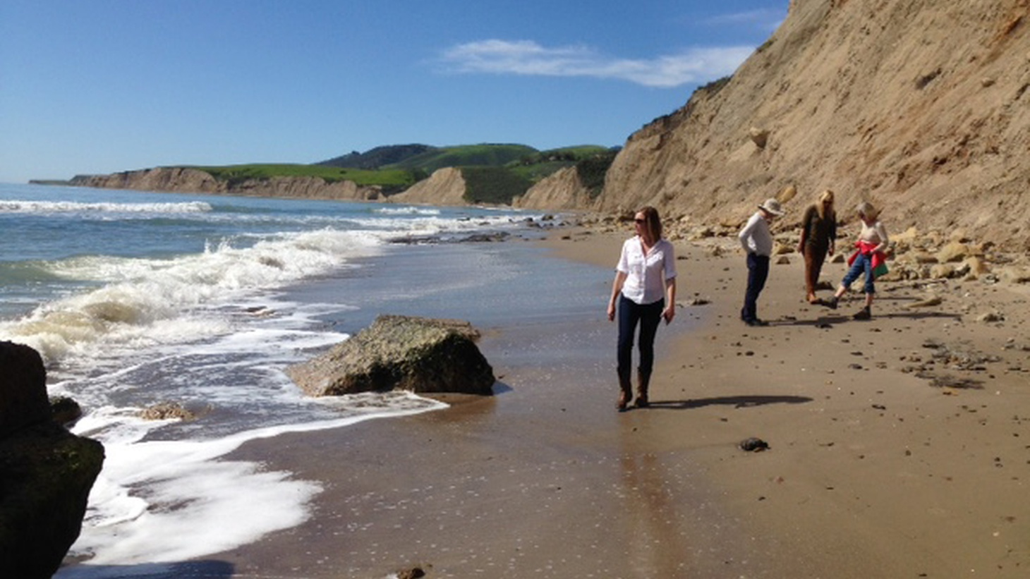A team of coastal rights activists has banded together to stop a deal from going through that would essentially cut off access for good to Hollister Ranch, a pristine stretch of coastline in Santa Barbara.